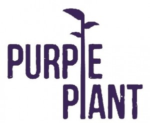 Purple Plant Logo